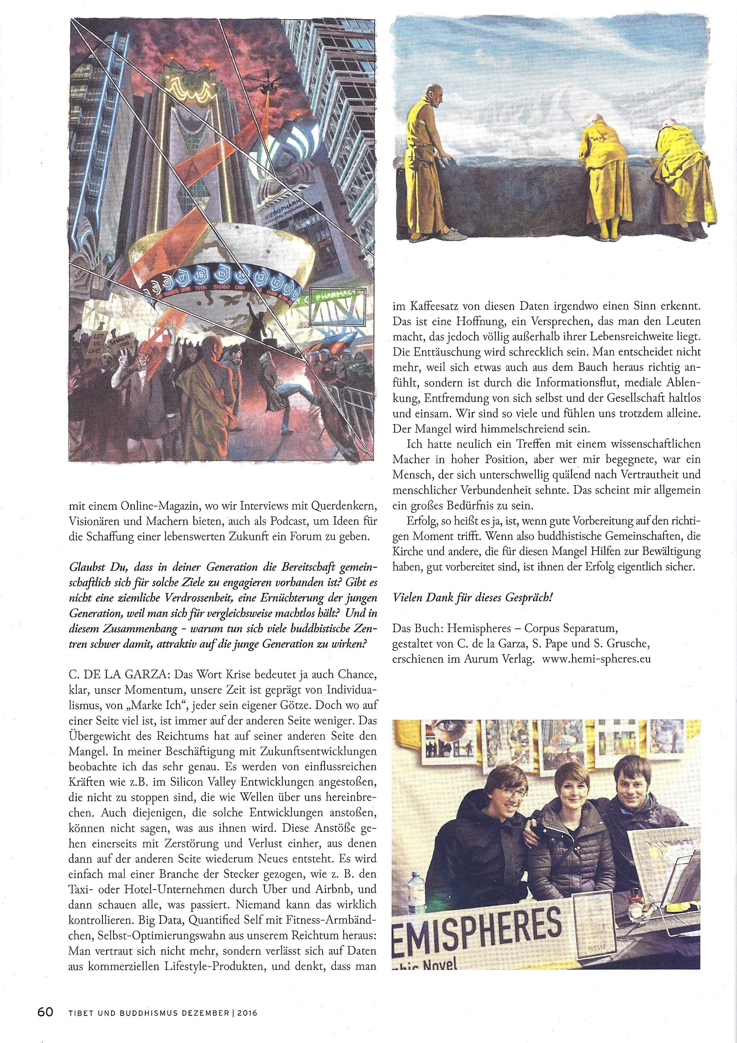 Hemispheres World Tibet und Buddhismus Magazin Dezember 2016 Seite 3